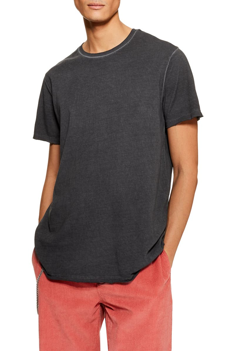 TOPMAN Smoked Classic Fit T-Shirt, Main, color, 003
