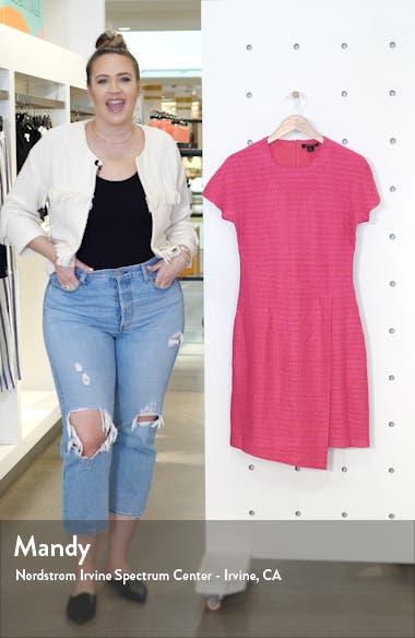 Poppy Novelty Textured Knit Dress, sales video thumbnail