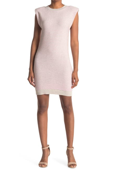 Image of WAYF Sleeveless Ribbed Midi Dress