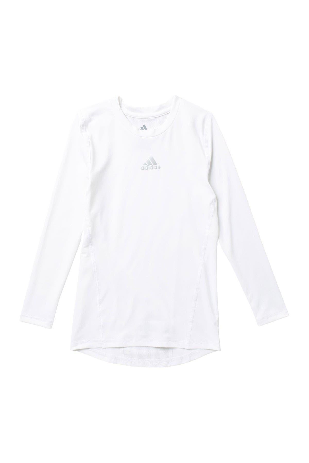 Image of adidas Alphaskin Base Layer Long Sleeve T-Shirt