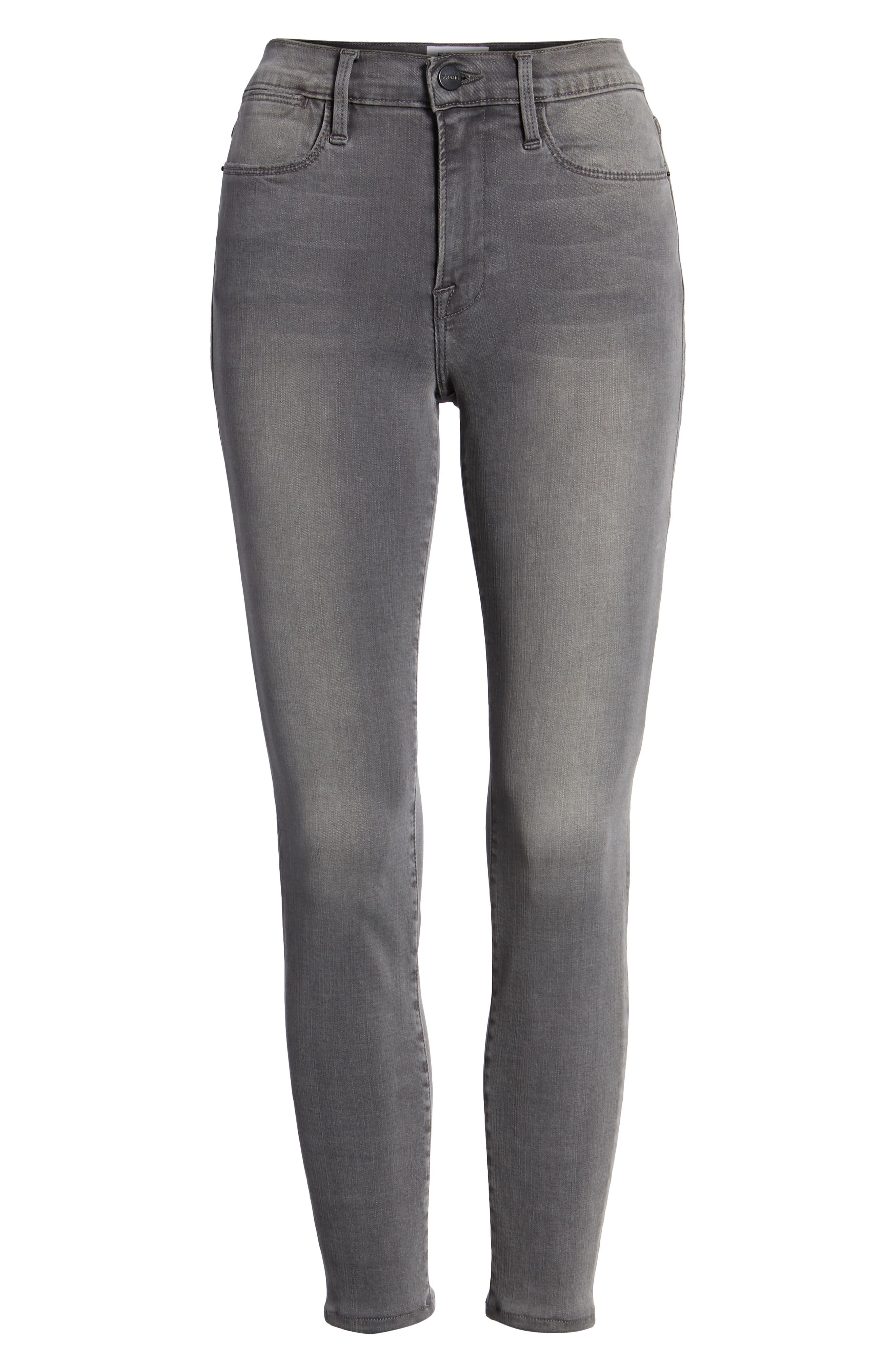 ,                             Le High Ankle Skinny Jeans,                             Alternate thumbnail 19, color,                             032