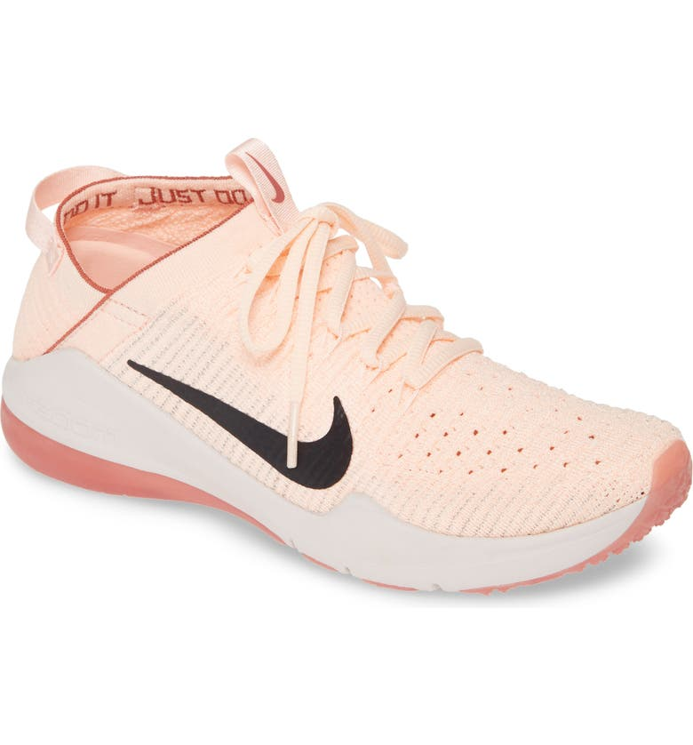 NIKE Zoom Air Fearless Flyknit 2 AMP Training Shoe, Main, color, PINK/ OIL GREY/ LIGHT PINK