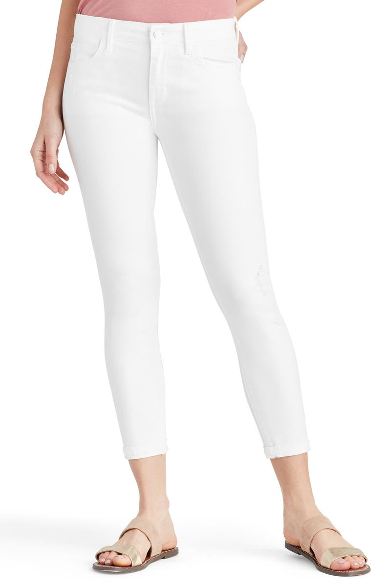 SAM EDELMAN The Kitten Crop Skinny Jeans, Main, color, 101
