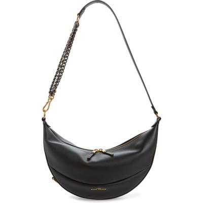 The Marc Jacobs The Eclipse Leather Shoulder Bag - Black