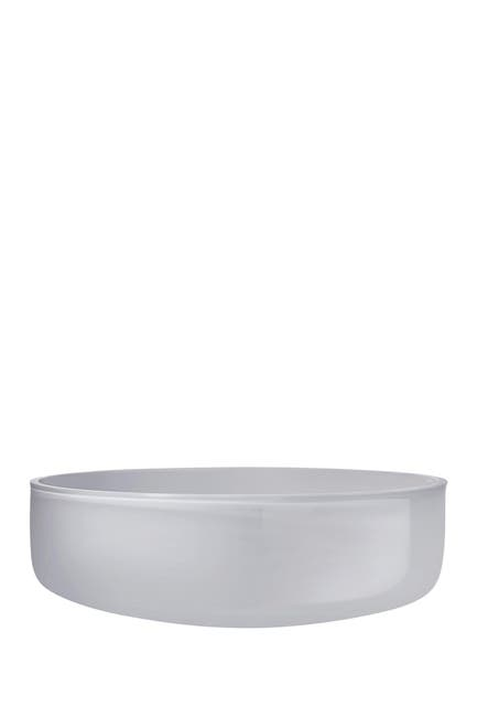 Image of Nude Glass Midnight Bowl - Large - Opal Grey