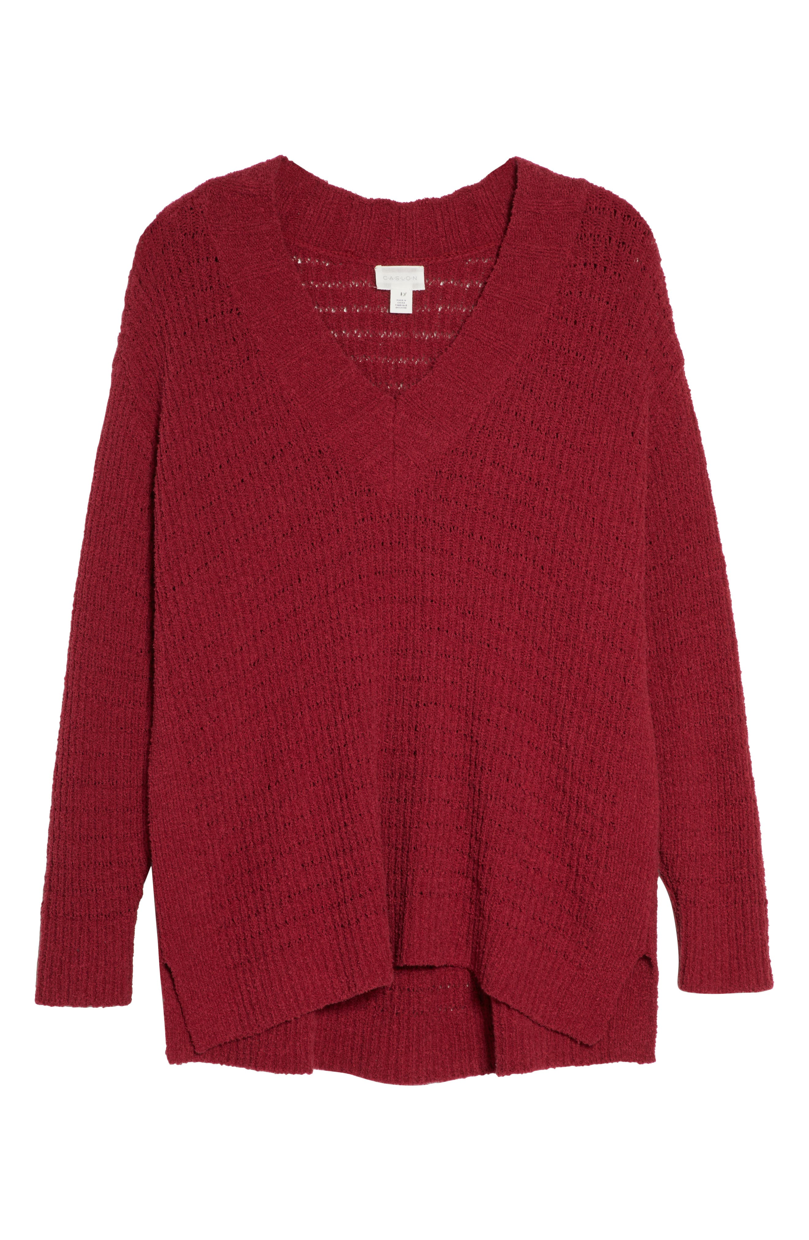 ,                             Tuck Stitch Sweater,                             Alternate thumbnail 12, color,                             601