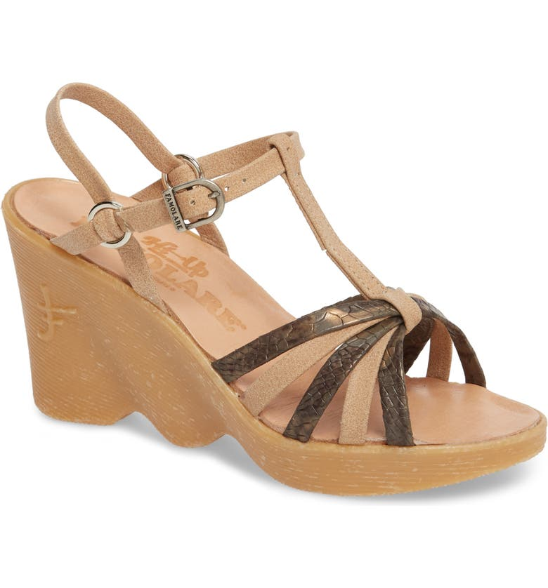 FAMOLARE To a Tee Wedge Sandal, Main, color, 250
