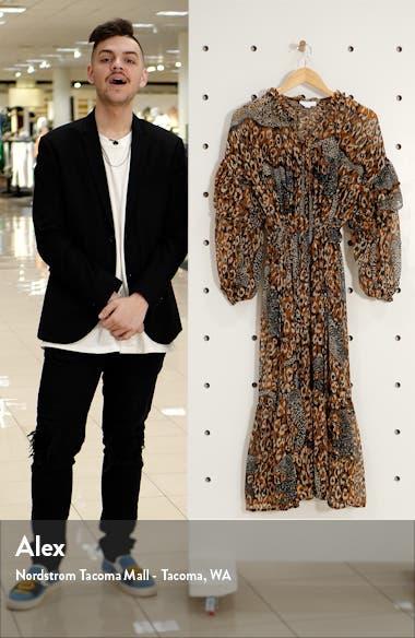 Idol Leopard Maxi Dress, sales video thumbnail