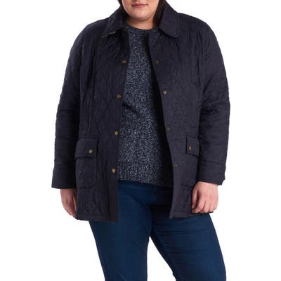 Plus Size Barbour Beadnell Summer Quilted Jacket