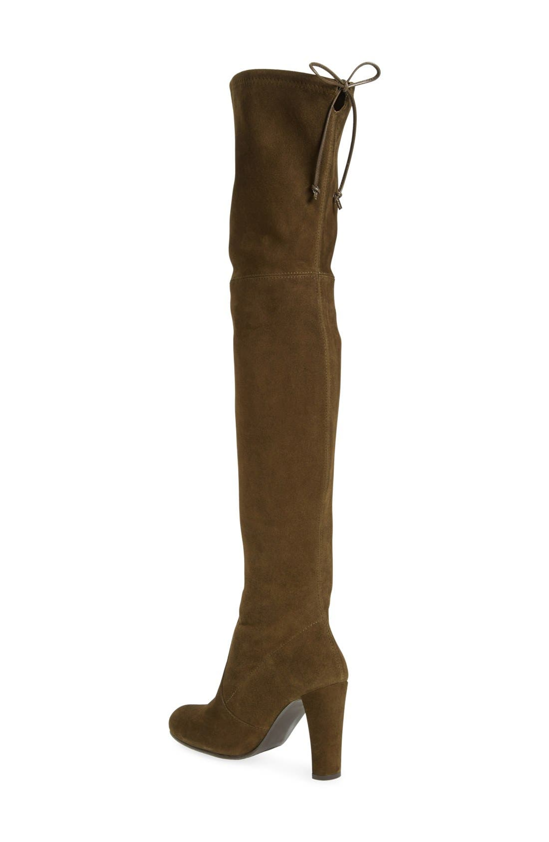 ,                             'Highland' Over the Knee Boot,                             Alternate thumbnail 56, color,                             301