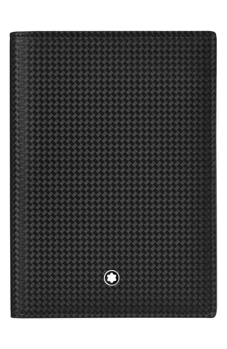 MONTBLANC Extreme 2.0 Leather Passport Case, Main, color, 001