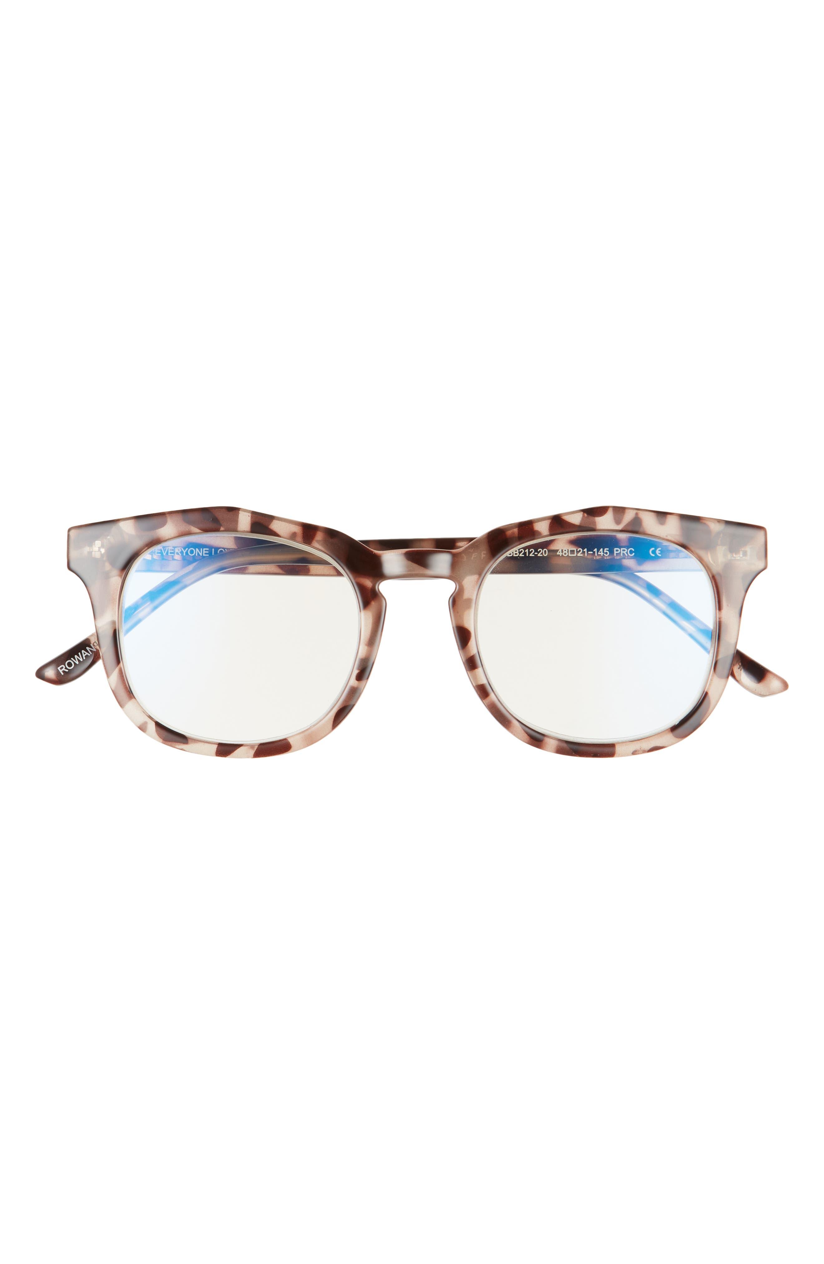 Rowan 50mm Small Blue Light Blocking Reading Glasses