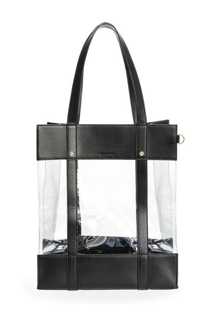 Image of GARTNER STUDIOS Clear Black Tote