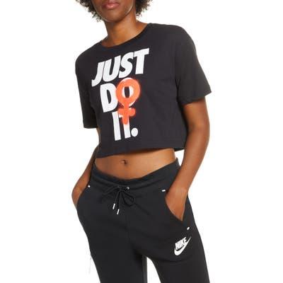 Nike Sportswear Rebel Graphic Crop Tee