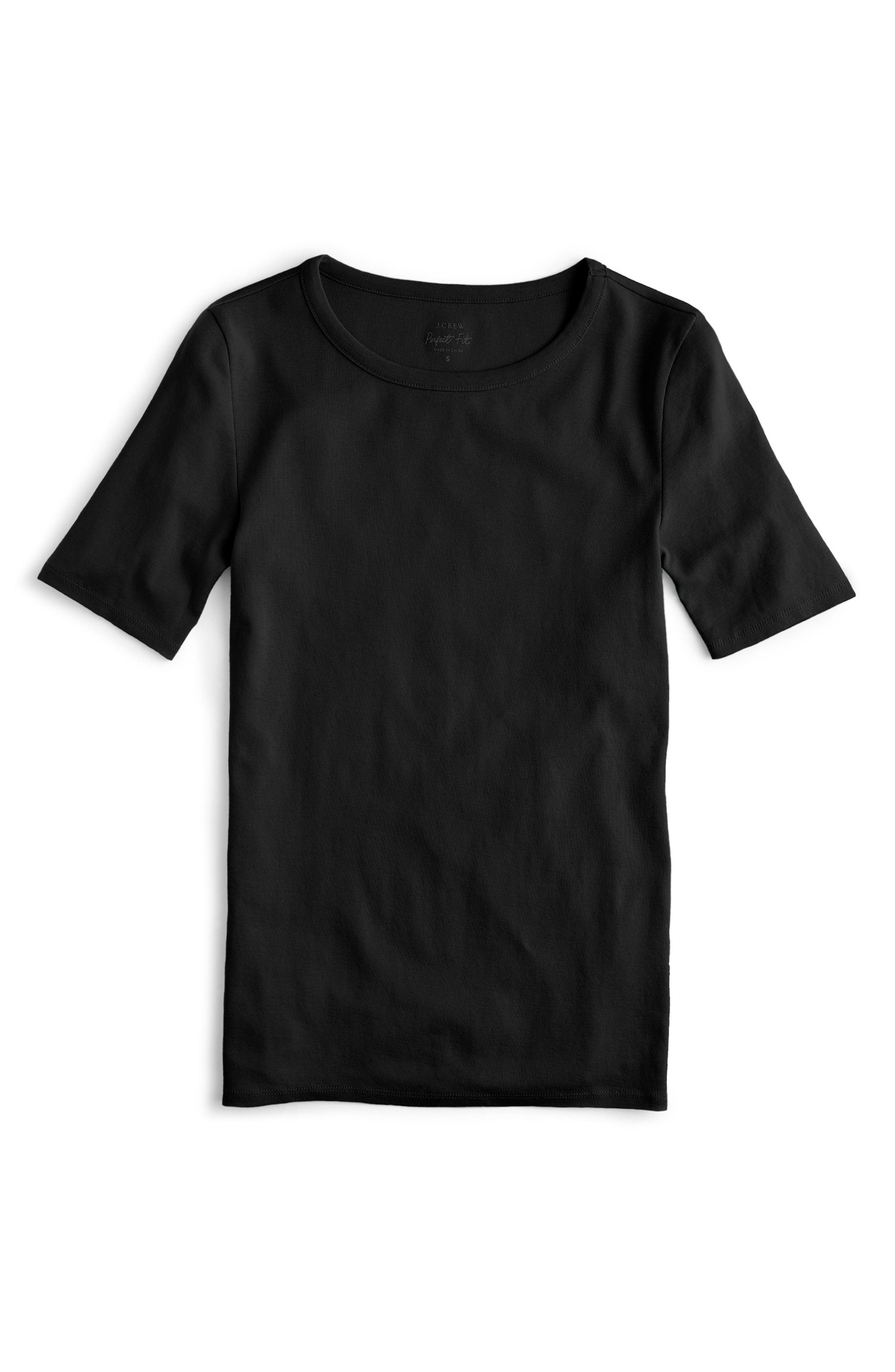 ,                             New Perfect Fit Tee,                             Main thumbnail 57, color,                             001