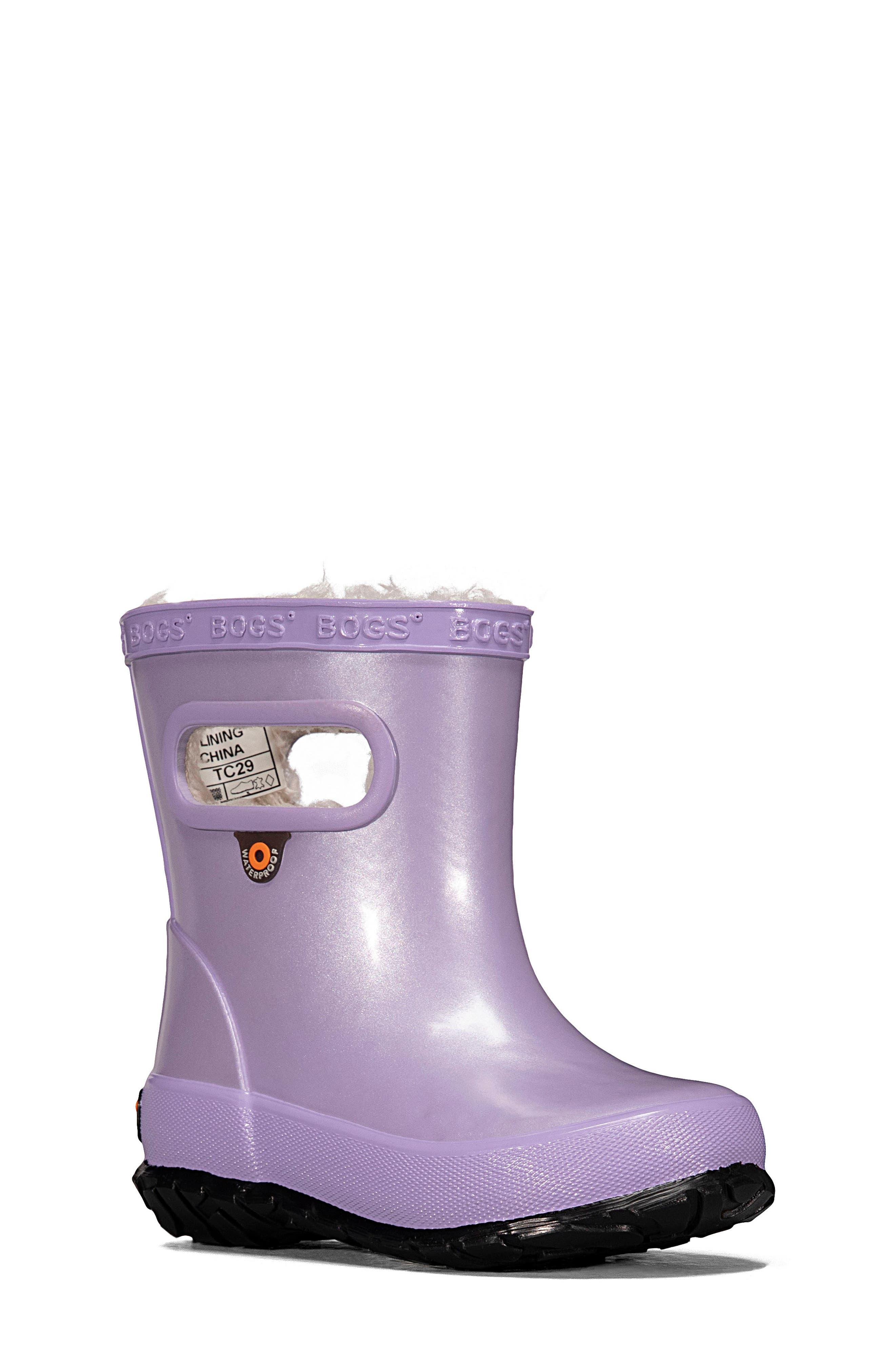adult glitter rain boots