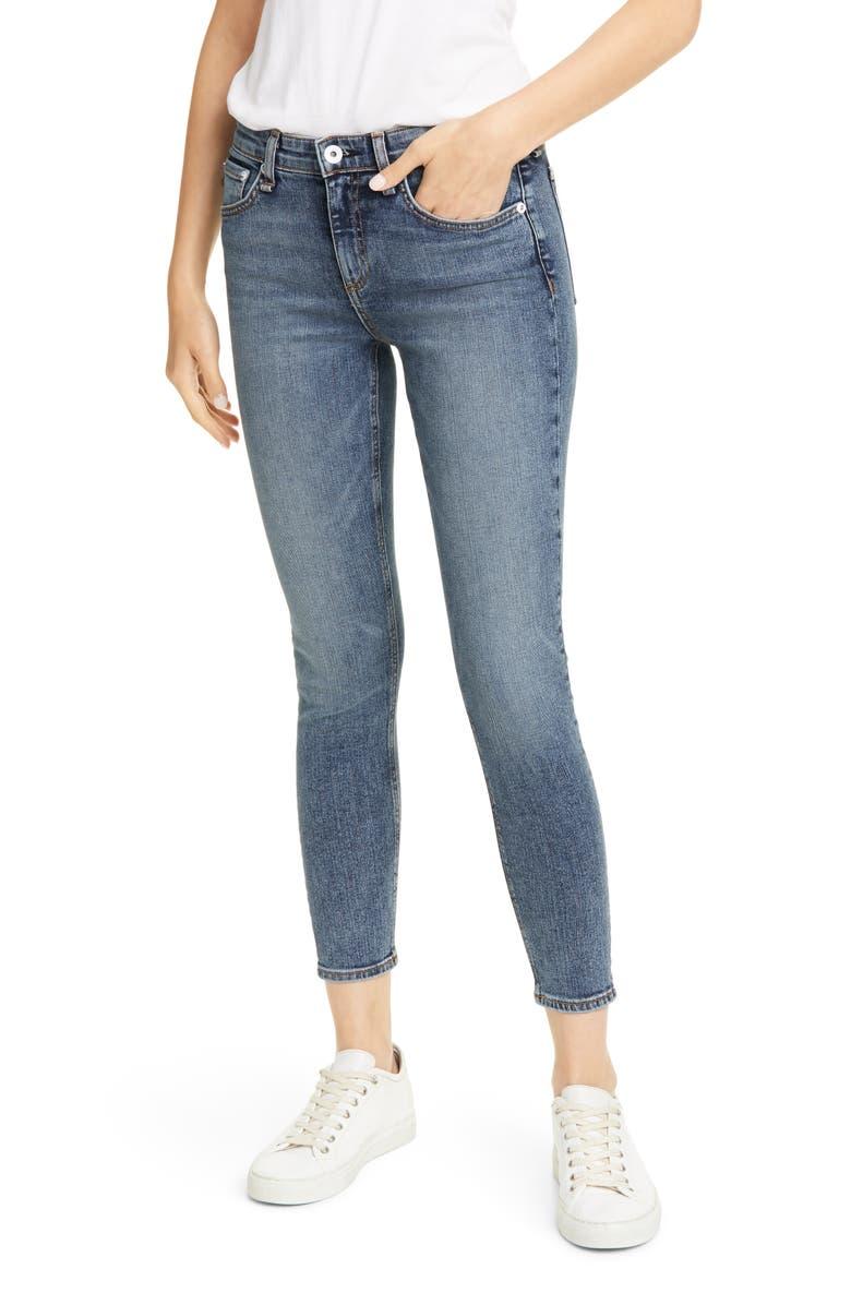 RAG & BONE Cate Ankle Skinny Jeans, Main, color, DEVI