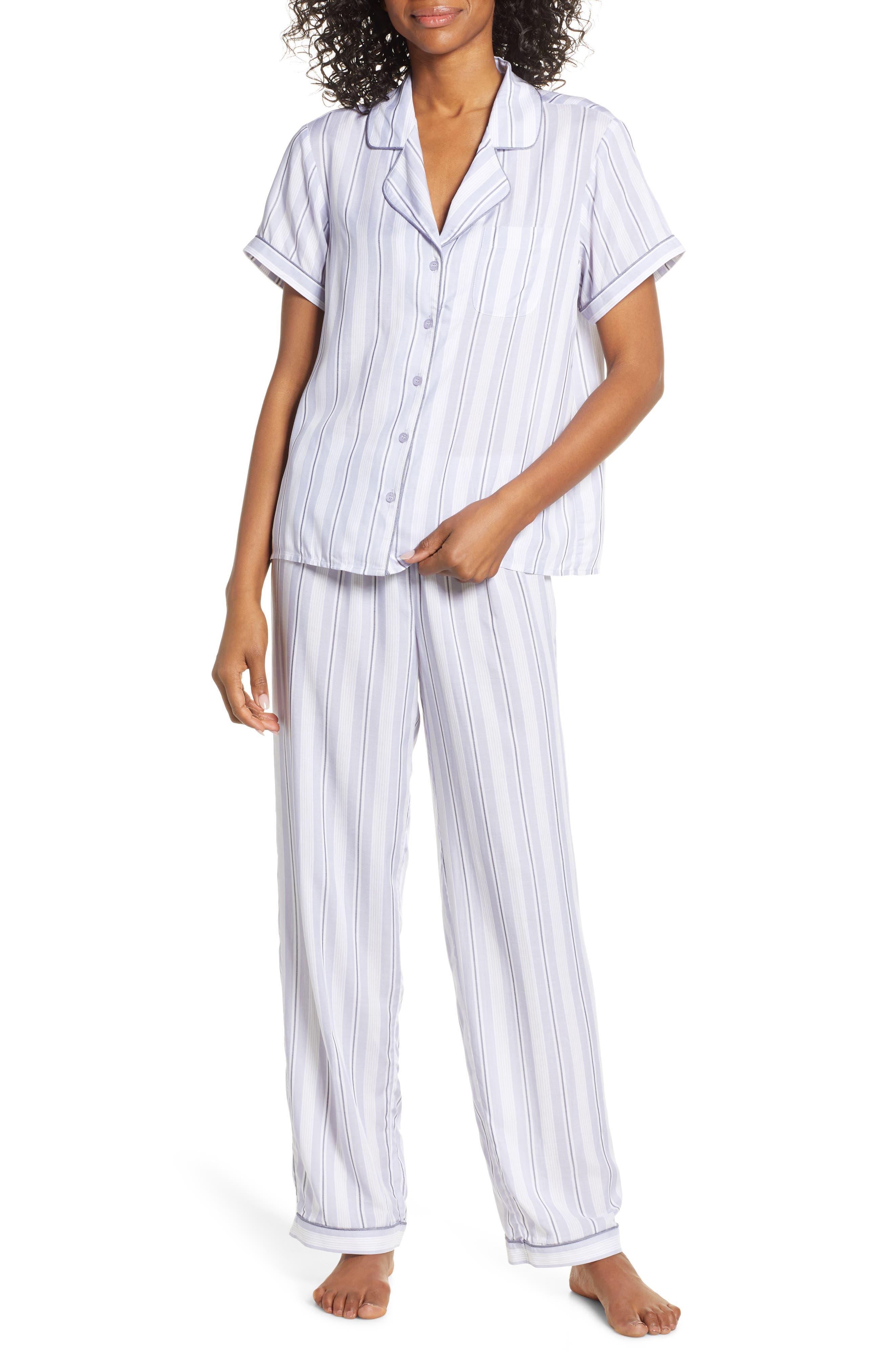 Nordstrom Lingerie Sweet Dreams Pajamas, Purple