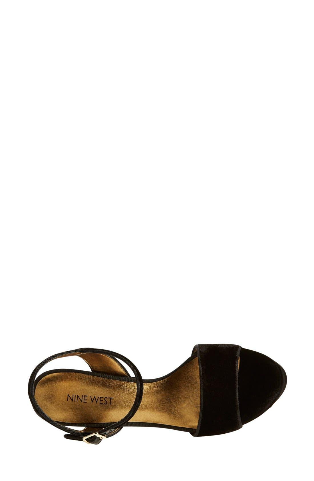,                             'Court' Ankle Strap Sandal,                             Alternate thumbnail 13, color,                             003