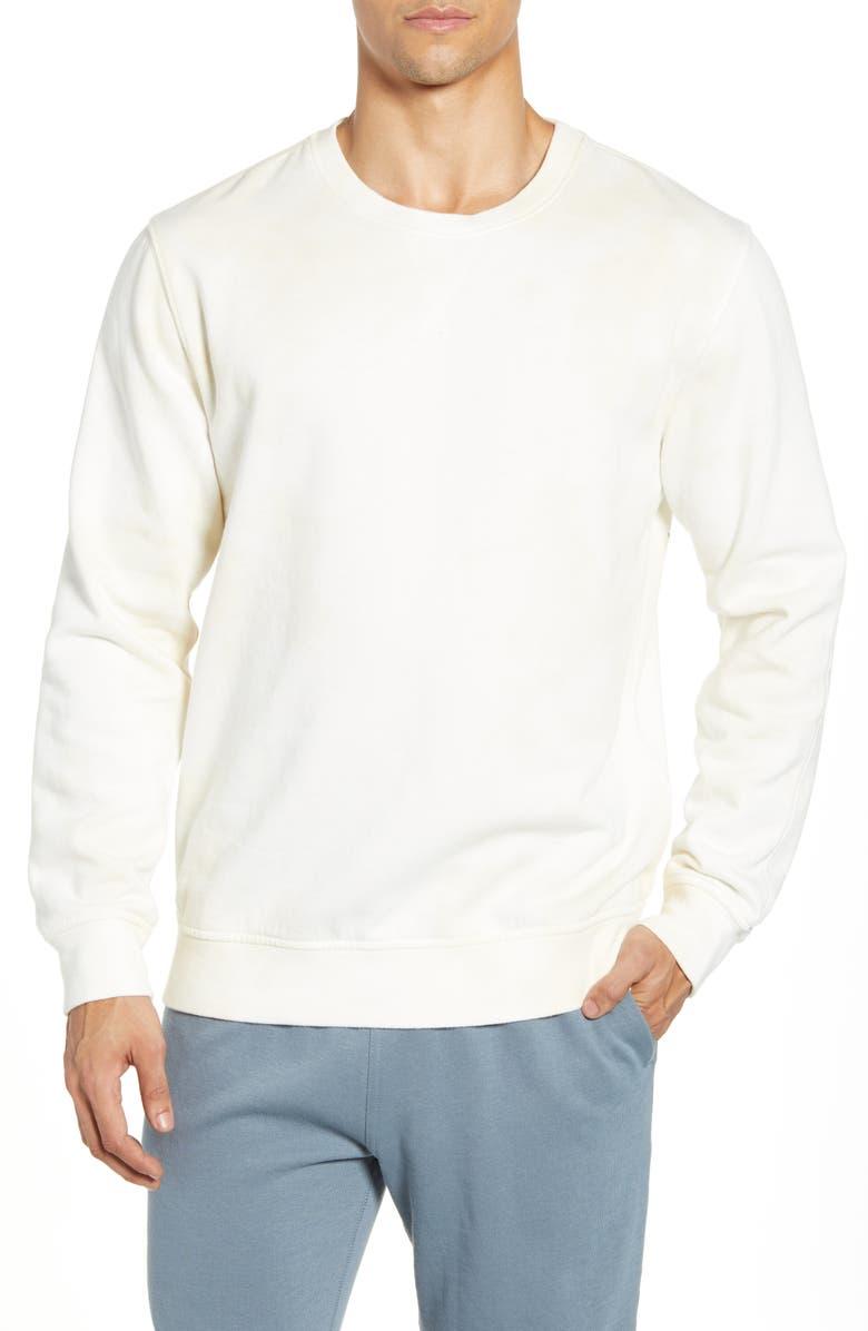 RICHER POORER Cotton Blend Crewneck Sweatshirt, Main, color, WASHED OUT