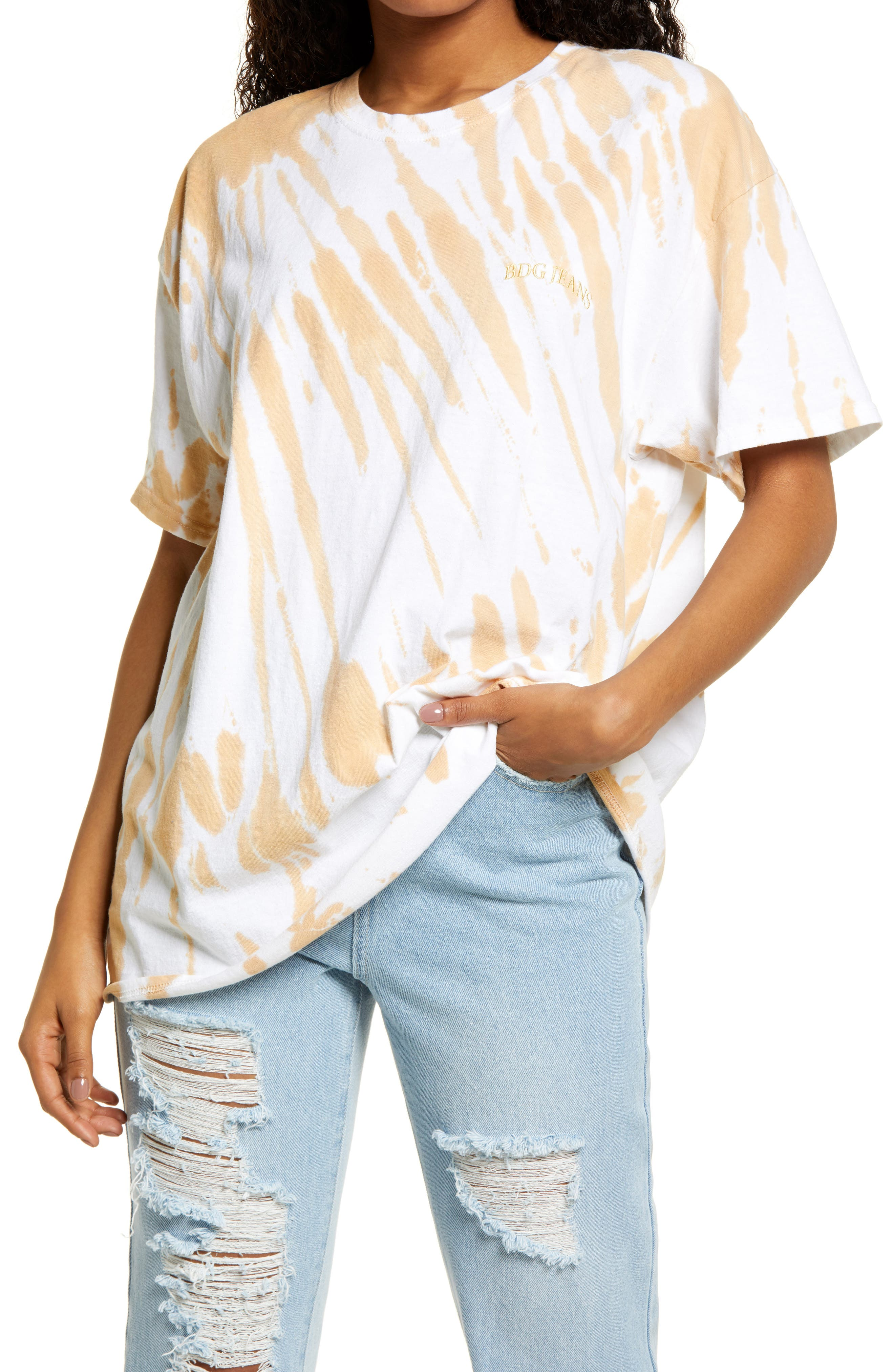 Women's Tie Dye Dad T-Shirt