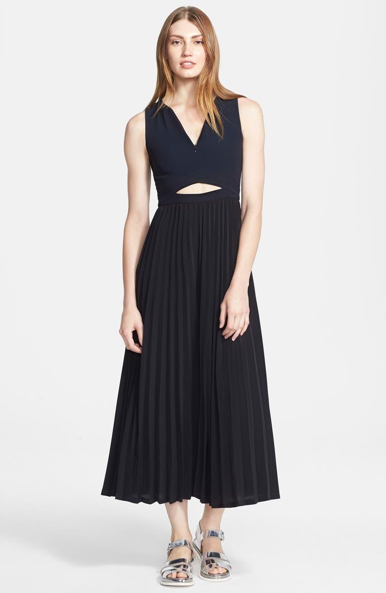 A.L.C. 'Cornelia' Cutout Midi Dress, Main, color, 489