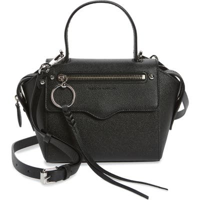 Rebecca Minkoff Small Gabby Leather Satchel - Black