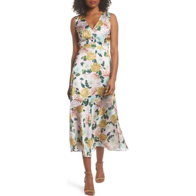 Sam Edelman Floral Midi Dress, Pink