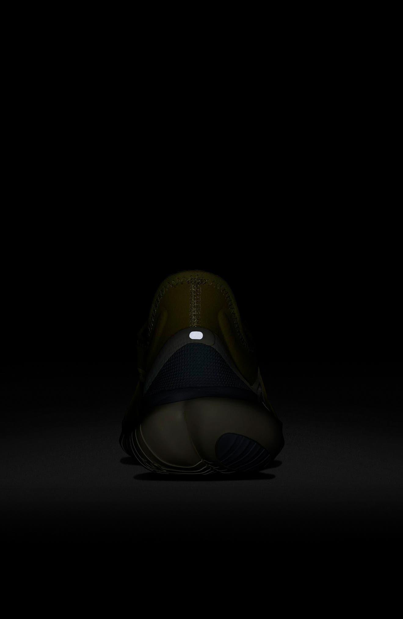 ,                             Free RN 5.0 Running Shoe,                             Alternate thumbnail 7, color,                             LUMINOUS GREEN/ BLACK/ SAIL