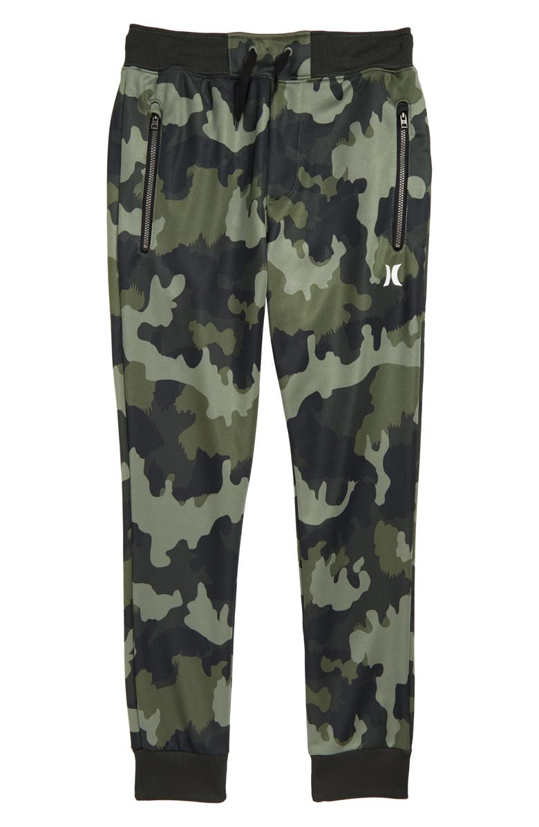 HURLEY Solar Dri-FIT Jogger Pants, Main, color, GREEN CAMO