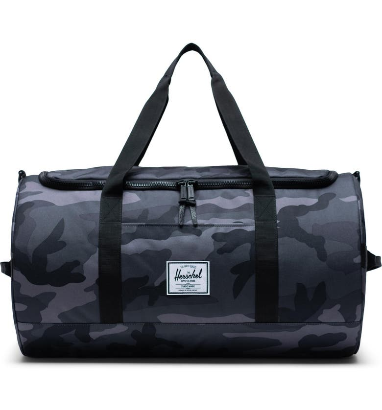 HERSCHEL SUPPLY CO. Sutton Duffle Bag, Main, color, NIGHT CAMO