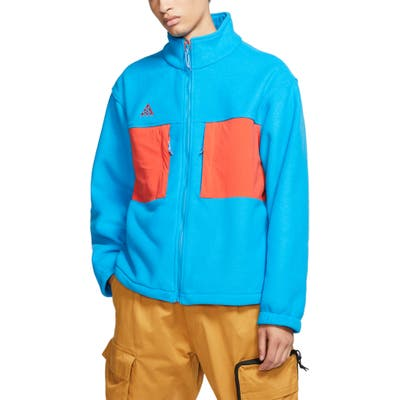 Nike Acg Fleece Jacket, Blue