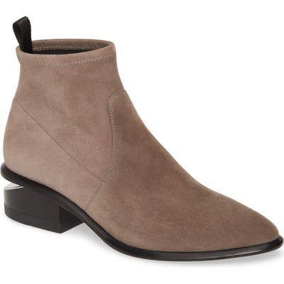 Alexander Wang Kori Stretch Bootie - Grey