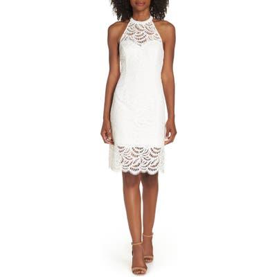 Lilly Pulitzer Kenna Lace Sheath Dress, White