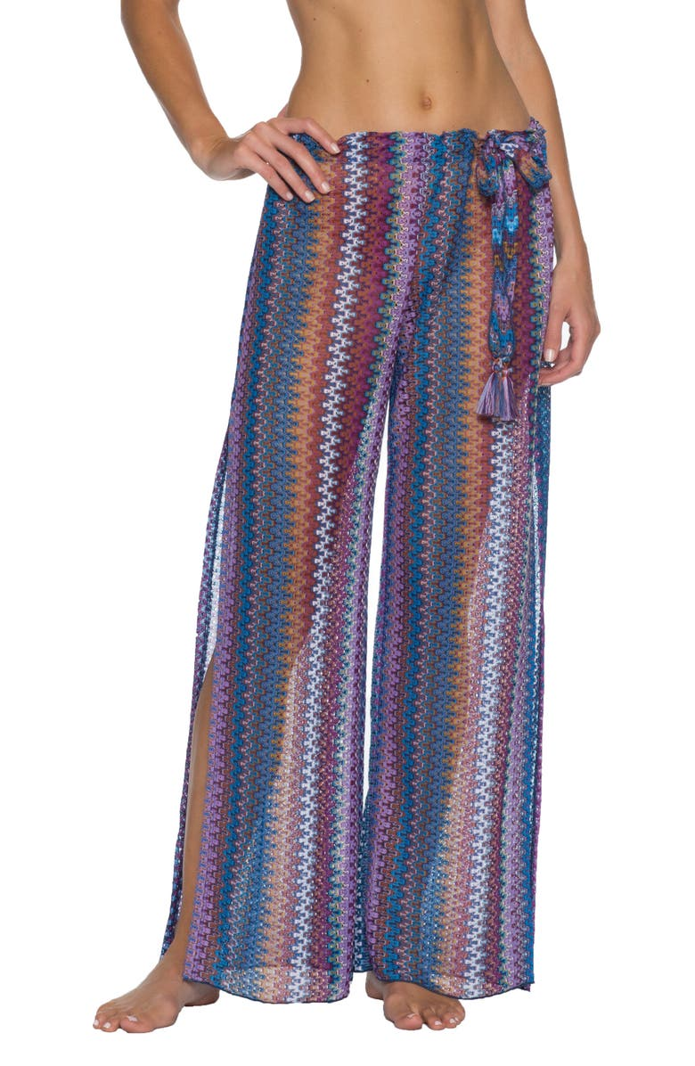 BECCA Wander Cover-Up Pants, Main, color, MULTI