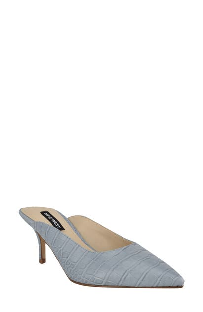 Nine West ANGLE POINTED TOE PUMP