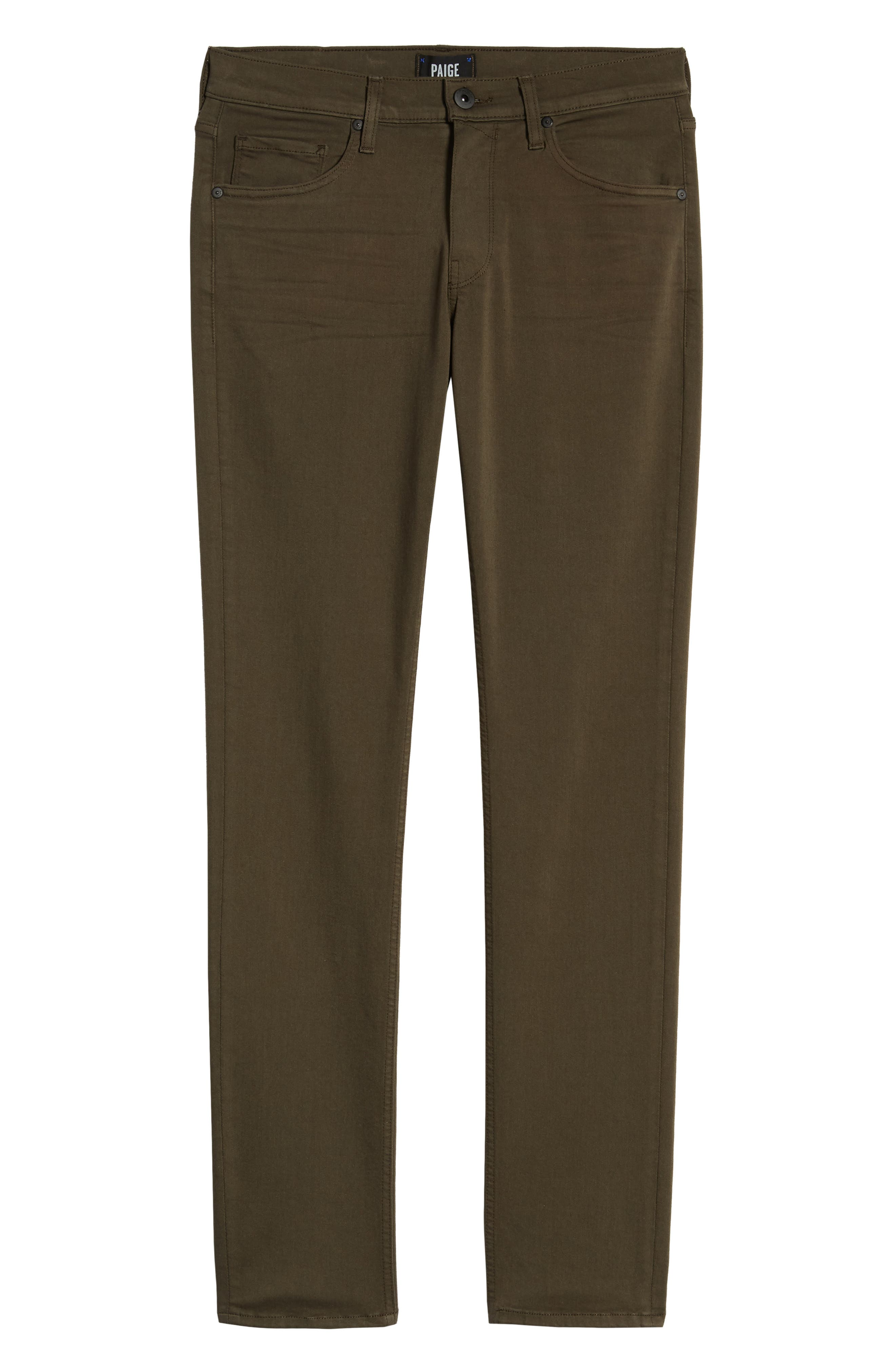 ,                             Transcend - Lennox Slim Fit Jeans,                             Alternate thumbnail 7, color,                             RIVER MOSS