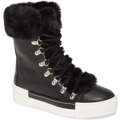 Cecelia New York Faux Fur Boot, Black