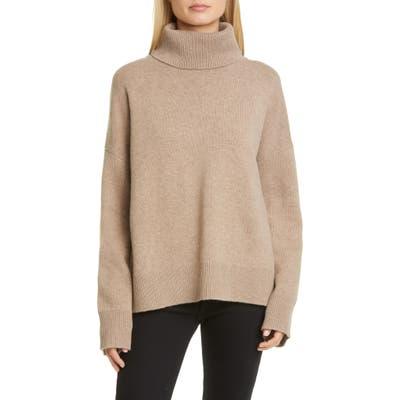 Co Bell Sleeve Wool & Cashmere Sweater, Beige