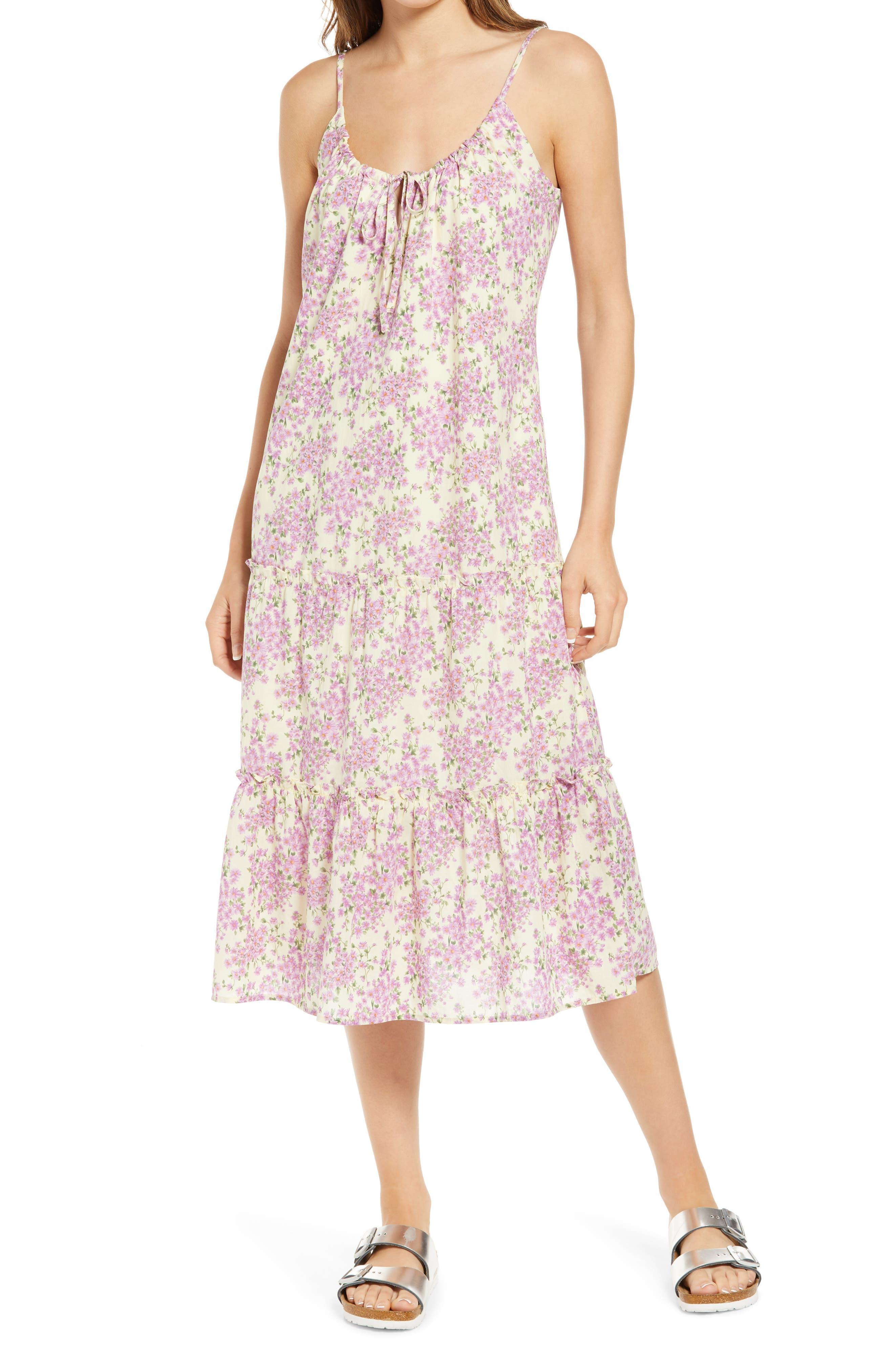 Stasi Floral Cotton Sundress