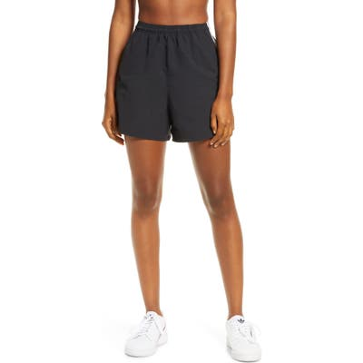 Adidas Originals 3-Stripes Athletic Shorts, Black
