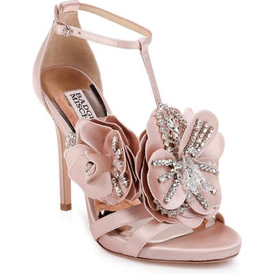 Badgley Mischka Lisa Sandal- Pink
