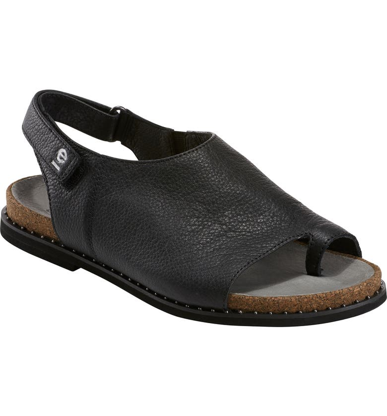 EARTH<SUP>®</SUP> Slingback Sandal, Main, color, BLACK LEATHER