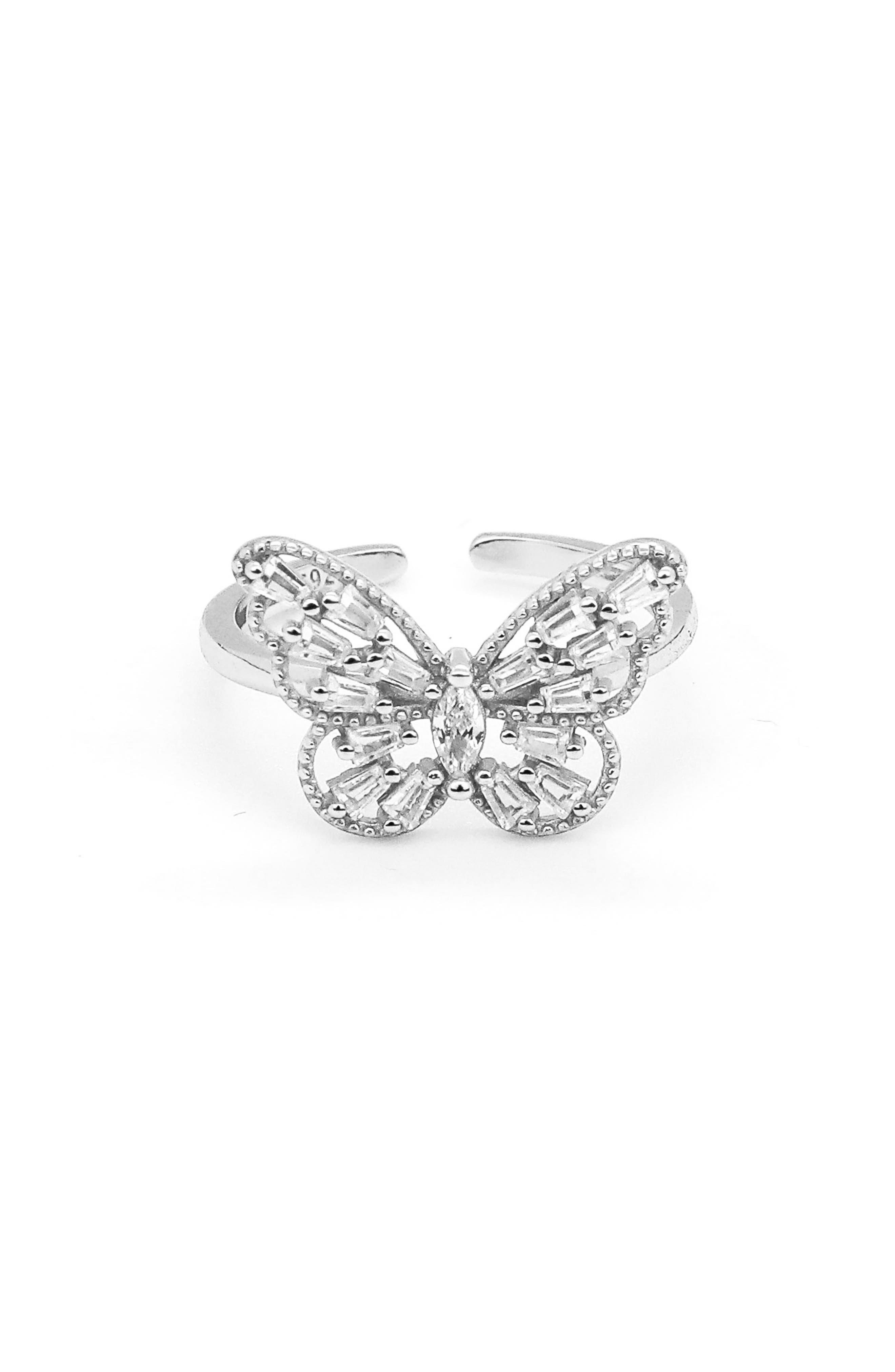 Dazzling Sloane Butterfly Lover Ring