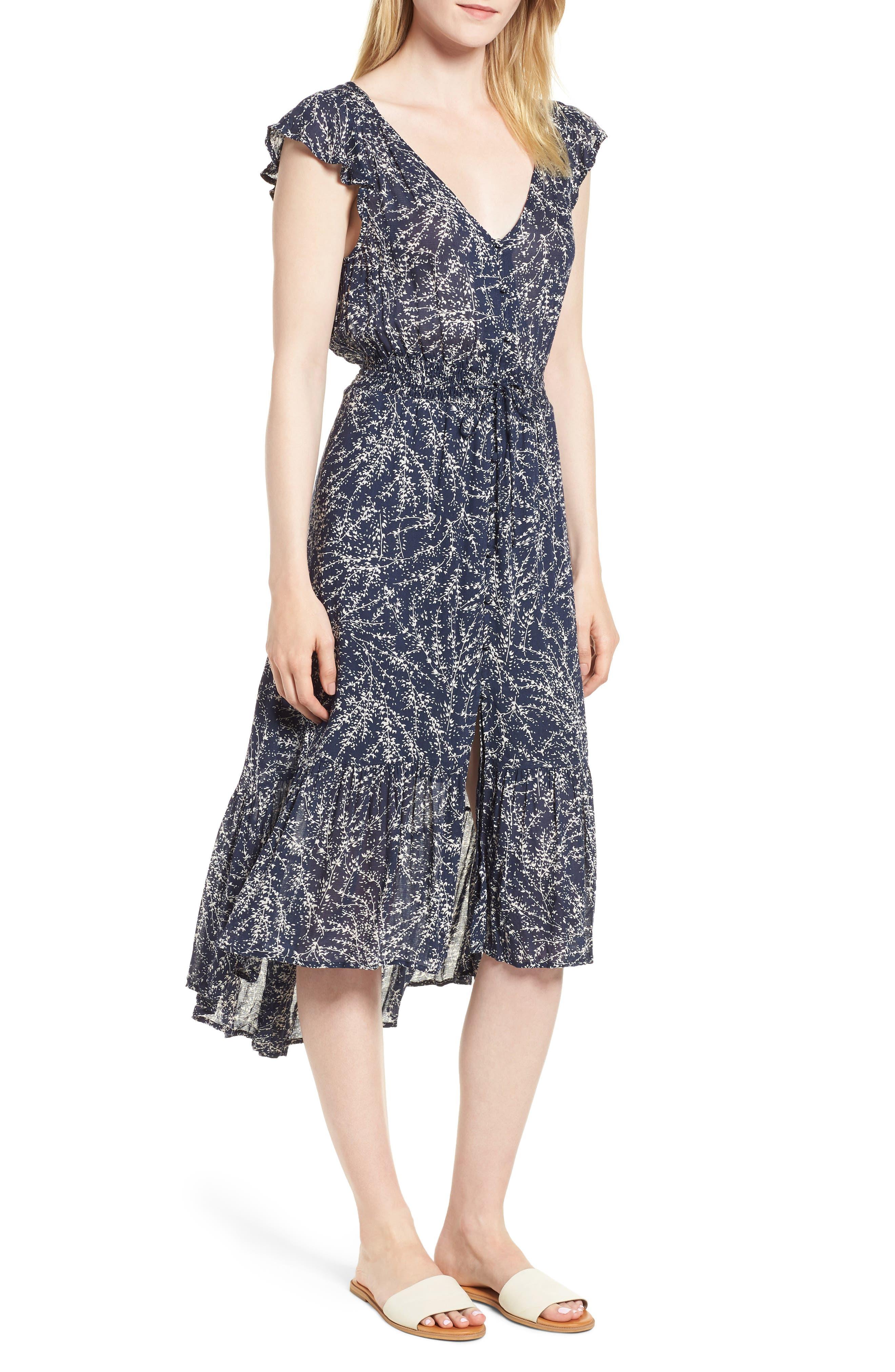 Lucky Brand Women/'s Felice Dress
