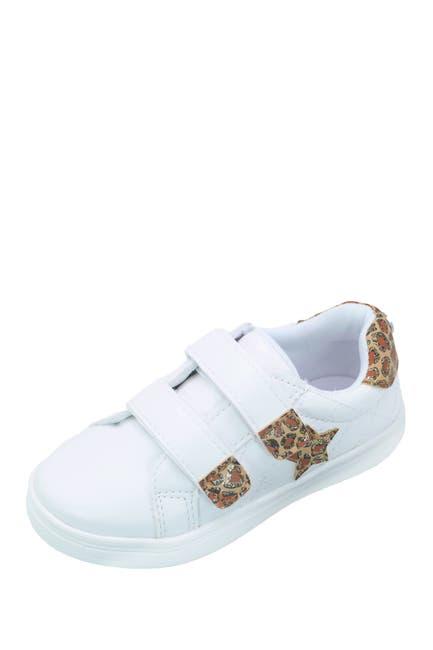 Image of Nicole Miller Leopard Print Glitter Sneaker