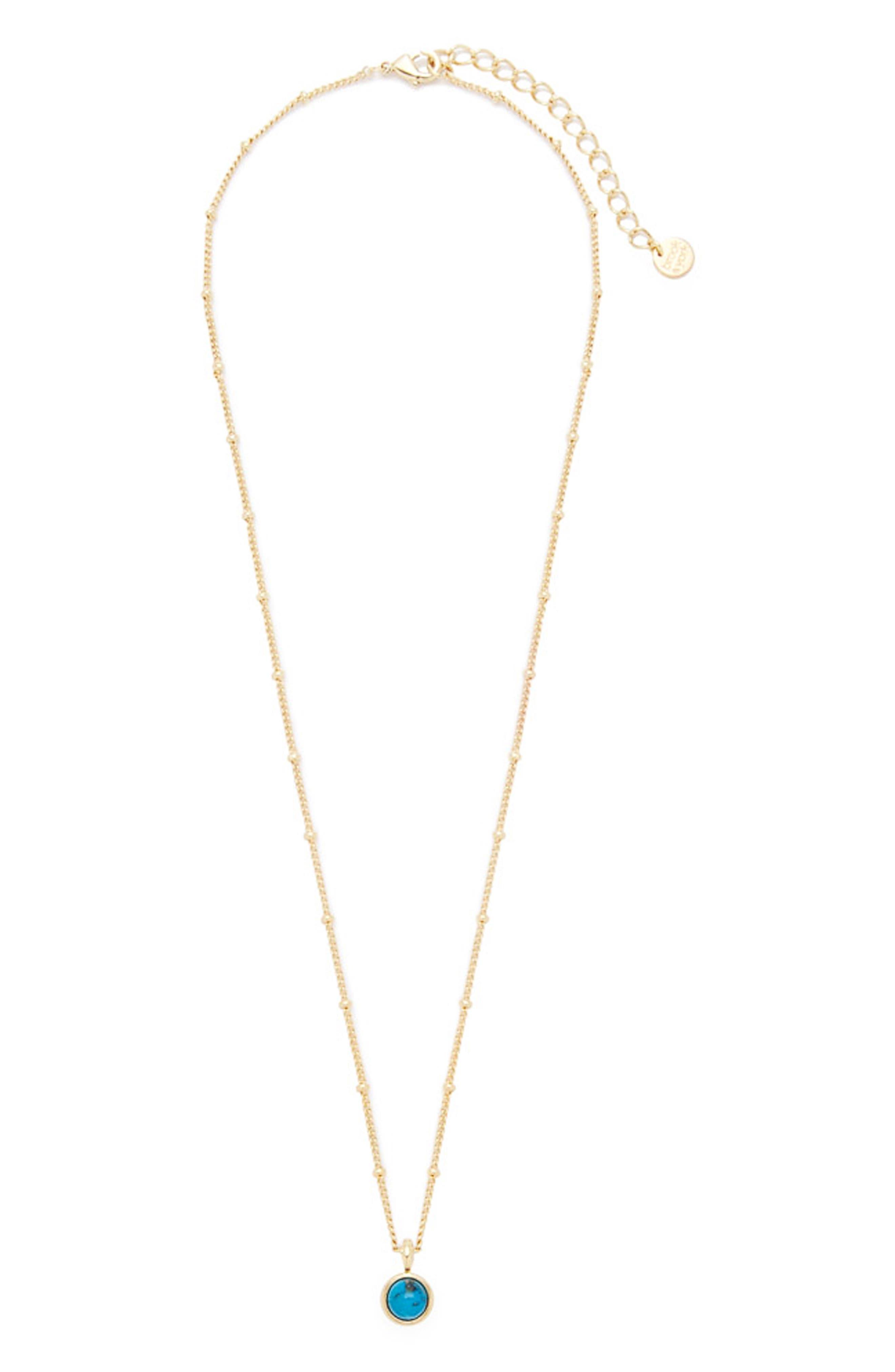 Nola Stone Pendant Necklace
