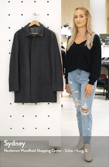 Russell Wool Blend Coat, sales video thumbnail