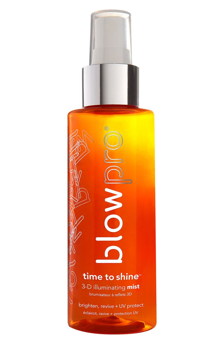 BLOWPRO<SUP>®</SUP> 'time to shine<sup>™</sup>' 3-D illuminating mist, Main, color, 000