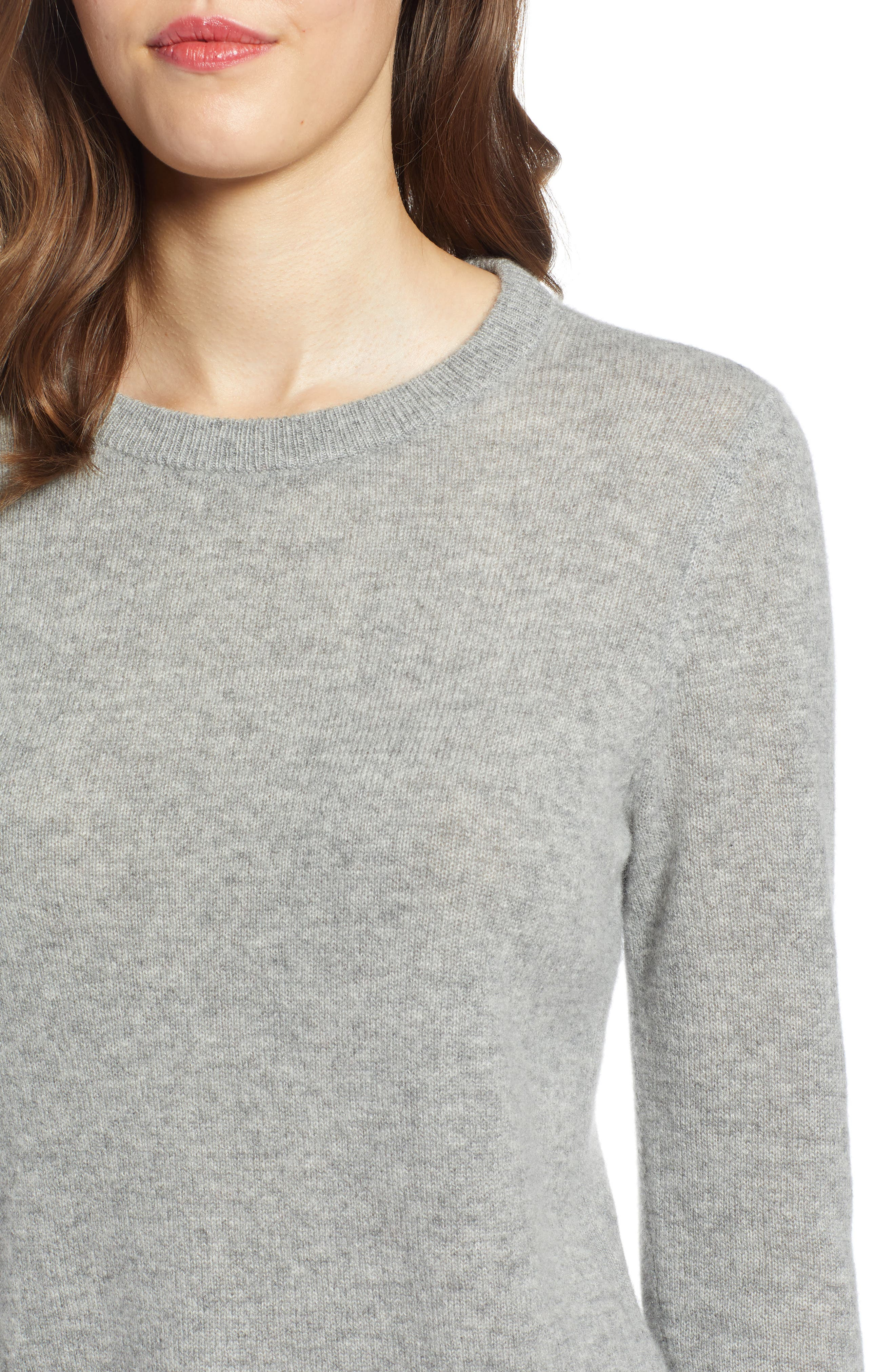 ,                             Crewneck Cashmere Sweater,                             Alternate thumbnail 32, color,                             030